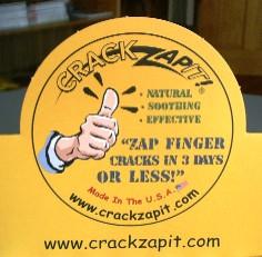 Zoom in of POP display for CrackZapIt!