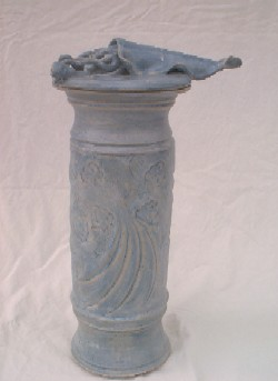 Squid Sculpture Lidded Form